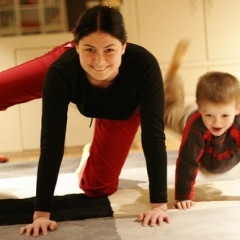Child-ercise: 10 Ways Moms Can Exercise