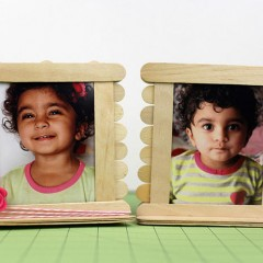 Popsicle Picture Frames