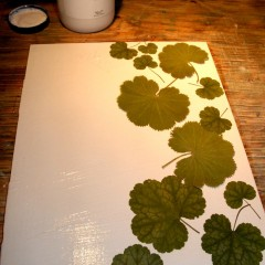 Leaf Collage Placemats