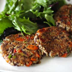 Black Bean Millet Patties