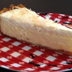 Tasha's Coconut Macadamia Cheesecake