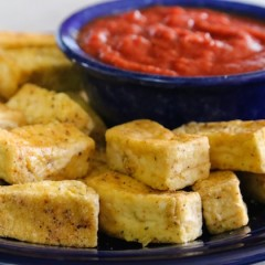 Shake and Bake Tofu