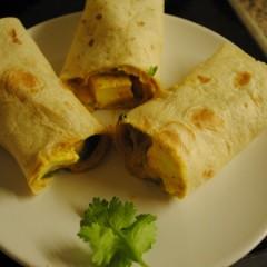 Turmeric Tofu Wraps