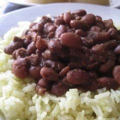 Basmati Rice with Pinto Beans
