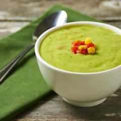 Hot Guacamole Soup