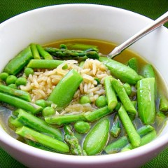 Spring Minestrone with Brown Rice