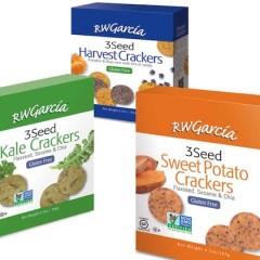 RW Garcia 3 Seed Gluten Free Crackers