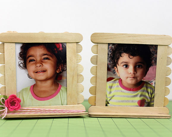 Popsicle Picture Frames Vegfamily