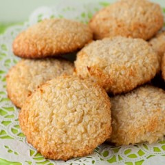 Coffee Coconut Cookies