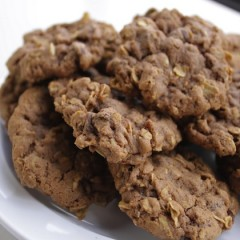 Easy Chocolate Oatmeal Cookies
