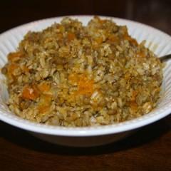 Lentil Rice Casserole