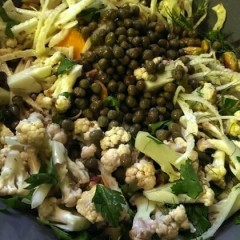 Cauliflower Salad with Capers and Olives