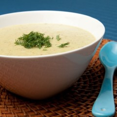 Creamy Potato Dill Soup