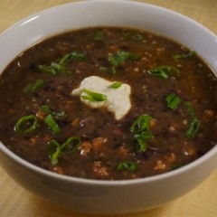 Easy Black Bean Soup