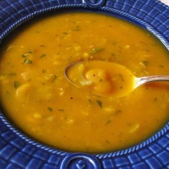 Squash and White Bean Soup